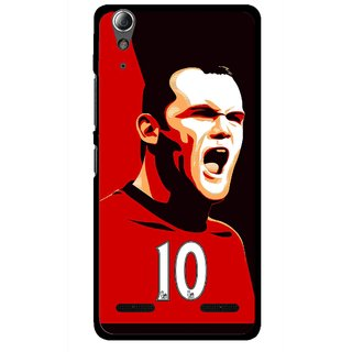 Snooky Printed Sports ManShip Mobile Back Cover For Lenovo A6000 - Multi