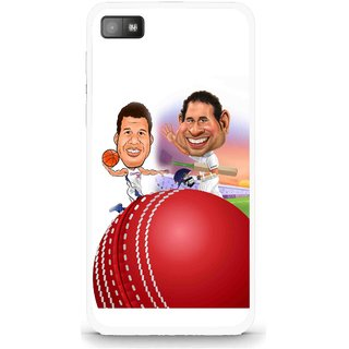 Snooky Printed Play Cricket Mobile Back Cover For Blackberry Z10 - Multi