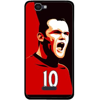 Snooky Printed Sports ManShip Mobile Back Cover For Micromax Canvas 2 A120 - Multi