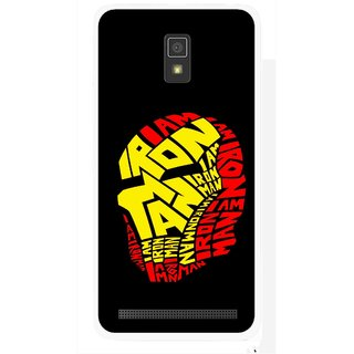 Snooky Printed I am Man Mobile Back Cover For Lenovo A6600 - Multicolour