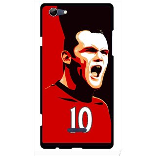 Snooky Printed Sports ManShip Mobile Back Cover For Micromax Canvas Selfie 3 Q348 - Multi