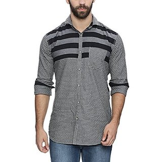 Campus Sutra Mens Casual Shirt