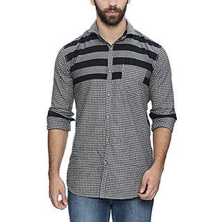 Campus Sutra Mens Casual Shirt