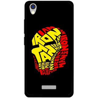 Snooky Printed I am Man Mobile Back Cover For Lava Iris X9 - Multi