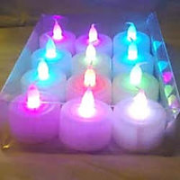 LED -Light Color Changing - Set Of 12 Pieces