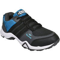 Super Men Black-671 Sports Running Shoes