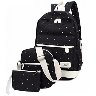 Buy Aeoss Sports Bag Canvas School Bag Backpack College Women s Canvas Outdoors  Camping Hiking Waterproof Travel School Bags Online - Get 43% Off bf943fd9c5158