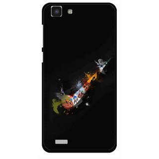 Snooky Printed All is Right Mobile Back Cover For Vivo Y27L - Multi