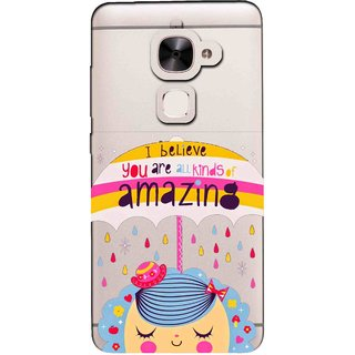 Snooky Printed Amazing Mobile Back Cover of Letv Le 2 - Multicolour