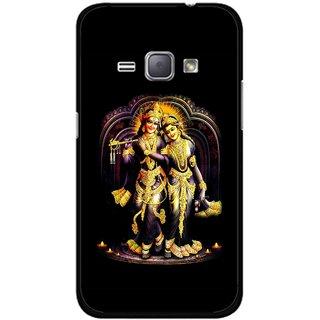 Snooky Printed Radha Krishan Mobile Back Cover For Samsung Galaxy J1 - Multicolour
