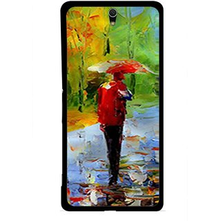 Snooky Printed Painting Mobile Back Cover For Sony Xperia C5 - Multicolour