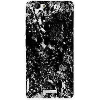 Snooky Printed Rocky Mobile Back Cover For Gionee M2 - Multi