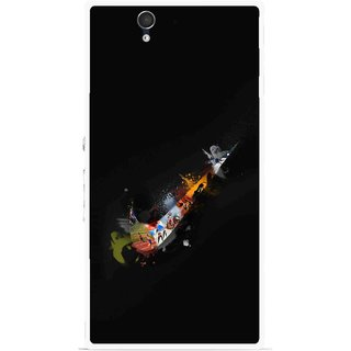 Snooky Printed All is Right Mobile Back Cover For Sony Xperia Z - Multicolour