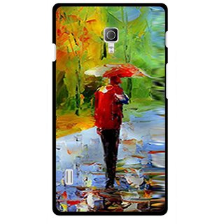 Snooky Printed Painting Mobile Back Cover For Lg Optimus L7 II P715 - Multicolour