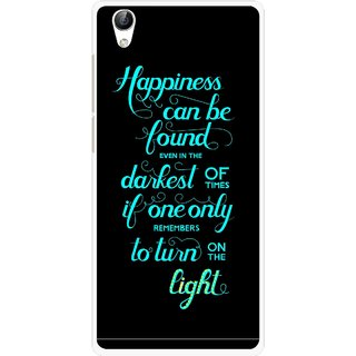 Snooky Printed Everywhere Happiness Mobile Back Cover For Vivo Y51L - Multi