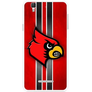 Snooky Printed Red Eagle Mobile Back Cover For Micromax YU YUREKA - Multi