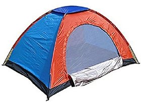 PORTABLE DOME TENT FOR 4 PERSON WATERPROOF CAMPING TENT OUTDOOR TENT