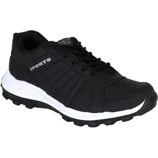 44d91efa1b8d9 Buy Super Men Black-677 Sports Running Shoes Online - Get 50% Off