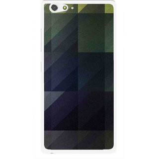 Snooky Printed Geomatric Shades Mobile Back Cover For Gionee Elife S6 - Multi
