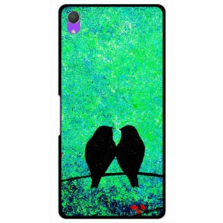 Snooky Printed Love Birds Mobile Back Cover For Sony Xperia Z2 - Multi