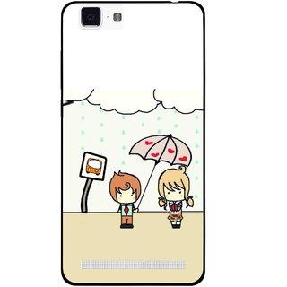 Snooky Printed Feelings in Love Mobile Back Cover For Vivo X5 Max - Multi