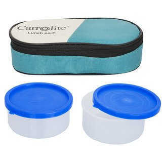 Sellebrity 2 in 1 GreenLunchbox-2 Plastic Container
