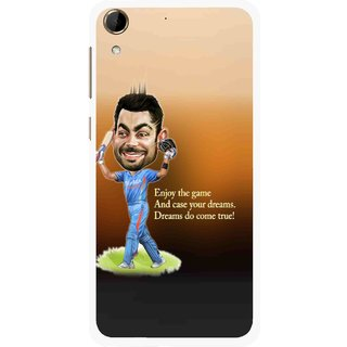 Snooky Printed True Dream Mobile Back Cover For HTC Desire 728 - Multi