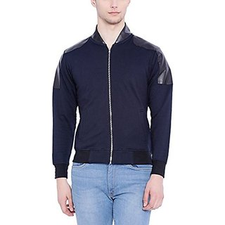 Campus Sutra Men Royal Blue Jacket