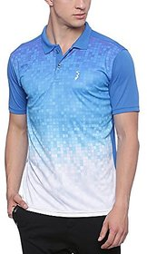 Campus Sutra Mens Jersey Polo Neck Odourless Dryfit Sports T-shirt