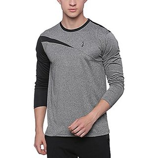 Campus Sutra Mens Jersey Round Neck Odourless Dryfit Sports T-shirt