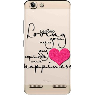 Snooky Printed Happiness Mobile Back Cover of Lenovo Vibe K5 Plus - Multicolour