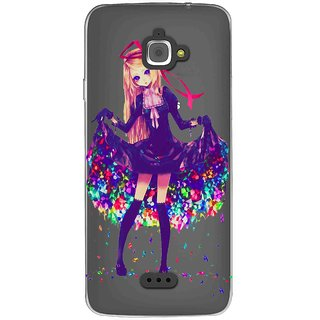 Snooky Printed Fashion Queen Mobile Back Cover of InFocus M350 - Multicolour