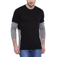 Campus Sutra Mens Round Neck T-shirt