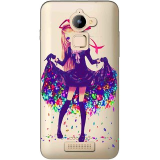 Snooky Printed Fashion Queen Mobile Back Cover of Coolpad Note 3 Lite - Multicolour