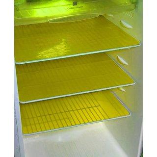Refrigerator Drawer Mat / Fridge Mat Set Of 6 Pcs (1217 Inches)Yellow