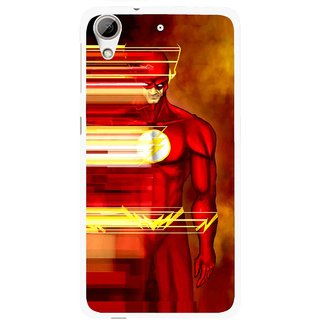 Snooky Printed Electric Man Mobile Back Cover For HTC Desire 626 - Multi
