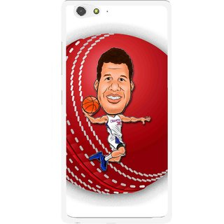 Snooky Printed Cricket Club Mobile Back Cover For Gionee Elife S6 - Multi
