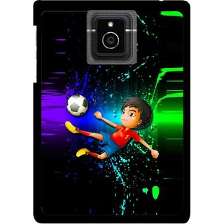 Snooky Printed High Kick Mobile Back Cover For Blackberry Passport - Multicolour