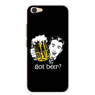 Snooky Printed Got Beer Mobile Back Cover For Vivo V5 Plus - Multi