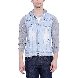 Campus Sutra Men Denim Jacket