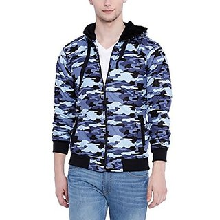 Campus Sutra Men Light Blue Jacket