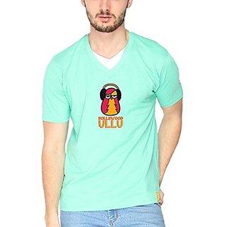 Campus Sutra Men Printed V-Neck T-Shirt