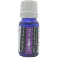 Divine Natural Essentials Juniper Berry Essential Oil, 100% Pure, Undiluted, Aromatherapy, Skincare, Therapeutic Grade. 10 ml