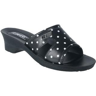 KITO KWU573 BLACK SLIPPERS