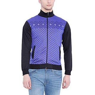 Campus Sutra Men Royal Blue Sweatshirt
