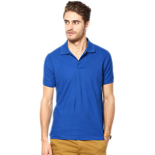 K-TEX Royal Blue  Polo T Shirt
