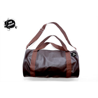 4d7173de5b76 Buy InkCraft Brown Small (Below 60 cms) Canvas Gym Bag Online   ₹1199 from  ShopClues