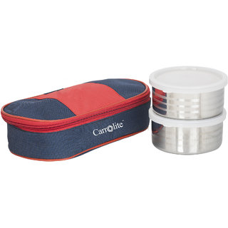 Sellebrity Royal Red-Blue Lunchbox-2 Steel Container