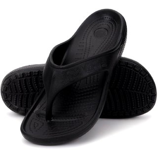 Nexa Accusoft Black Men's Slippers