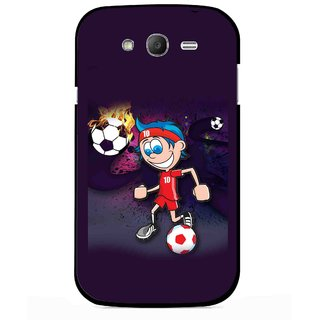 Snooky Printed My Game Mobile Back Cover For Samsung Galaxy Grand I9082 - Multicolour